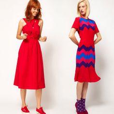 Miss Moss : The Midi Dress