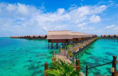 Kapalai is an island in Malaysia, known for its scuba resorts.