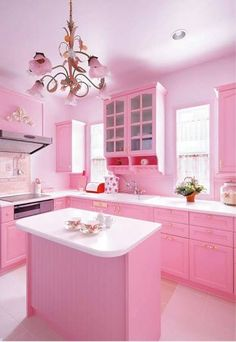 Pink Kitchen.. Everyone Should Have ❤