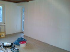 """2012 """"Private Wohnung"""" (Kunde) Renovieren, Tapezieren, Laminatboden verlegen!"""