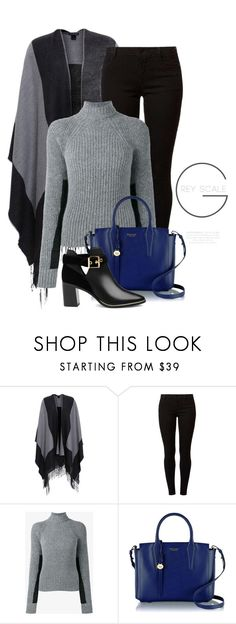 """Fall Outerwear 2406"" by boxthoughts ❤ liked on Polyvore featuring Scialle, Dorothy Perkins, Haider Ackermann, Radley and Ted Baker"