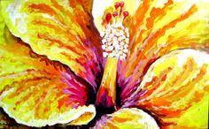 """Saatchi Art Artist Govindan Marudhai; Painting, """"Flower"""" #art"""