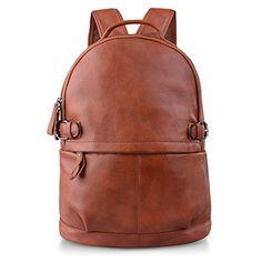 AB Earth Womens Cow Leather Backpack Handbag, M752 (Brown) - http://leather-handbags-shop.com/ab-earth-womens-cow-leather-backpack-handbag-m752-brown/