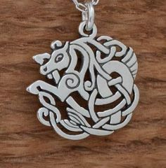 Sterling Silver Celtic Horse