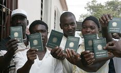 Miles de haitianos refugiados varados en México