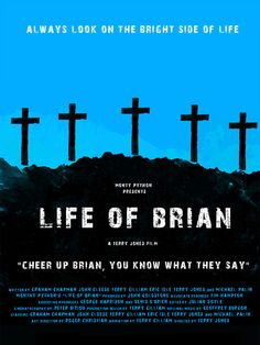 Monty Python's Life of Brian by Russell Ford Movies (inspired by Olly Moss). Haha love this movie. He's a very naughty boy. Monty Python, Movie Gifs, Film Movie, Comedy Film, Olly Moss, Eric Idle, Spanish Inquisition, Terry Jones, Michael Palin