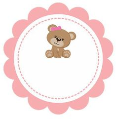 Cheguei... Papai, mamãe e eu agradecemos sua visita! Isabella Tarjetas Baby Shower Niña, Imprimibles Baby Shower, Baby Shower Invitaciones, Baby Shower Greeting Cards, Baby Cards, Hello Kitty Invitations, Wedding Logo Design, Baby Shawer, Bear Party