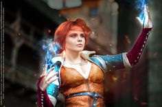 Witcher - The Sorceress by Fenyachan. Totally awesome cosplay!