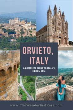 Just one hour from Rome by train, you can visit the enchanting medieval city of Orvieto! This hidden gem of Italy is full of fascinating history. Don't miss it on your trip to Italy! Italy Travel Tips, Top Travel Destinations, Nightlife Travel, Places To Travel, Holiday Destinations, Travel Guide, Budget Travel, Croatia Travel, Thailand Travel