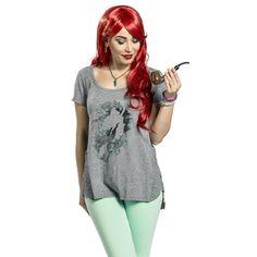 Watercolor Ariel - T-Shirt by The Little Mermaid