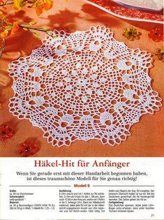 """Photo from album """"FiletHakeln on Yandex. Crochet Dollies, Crochet Flowers, Crochet Bedspread, Lace Doilies, Crochet Earrings, Crochet Patterns, Mandala, Album, Yandex Disk"""