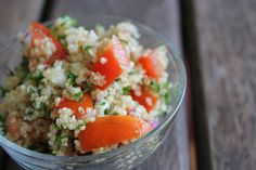 Quinoa Tabouli - my morning sickness food - The Veggie Mama