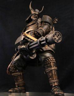 Gentle Giant Unleashes a Gun-Toting Samurai Statue from 'Sucker Punch'
