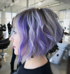 Picture of a stacked and angled edgy bob a short hairstyle for round face - April 20 2019 at Easy Hairstyles For Medium Hair, Cute Hairstyles For Short Hair, Hairstyles For Round Faces, Trendy Hairstyles, Black Hairstyles, Wedding Hairstyles, Short Hair Styles For Round Faces, Short Hair Styles Easy, Medium Hair Styles