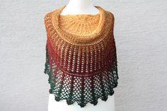 #Mode #Accessoire #Tuch #Gehäkelt #Schal #Scoodie #Farbverlaufswolle  Hier ein Exemplar der Kollektion Tücher: dieses Mal ein besonders edles und elegantes Exemplar aus handgewickelter...
