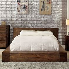 You'll love the Elliston Platform Bed at Wayfair - Great Deals on all Furniture  products with Free Shipping on most stuff, even the big stuff.