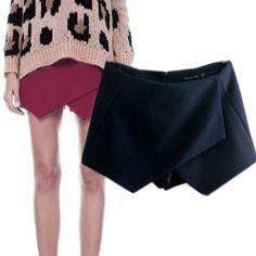 55ю 2014 зима новый ZAR @ Женские шорты шорты брюки Европейский стиль нерегулярные шерстяные сапоги, брюки случайные штаны - Taobao