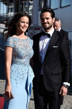 Prince Carl Philip & Sofia Hellqvist are joined by more than 250 guests for a Pre-Wedding Dinner, Stockholm, Sweden, June 12, 2015.