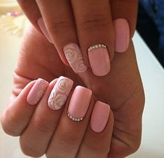 Uploaded by Find images and videos about fashion, pink and nails on We Heart It - the app to get lost in what you love. Subtle Nails, Love Nails, Pretty Nails, My Nails, Nail Art Designs, Art Simple, Special Nails, Summer Acrylic Nails, Nagel Gel