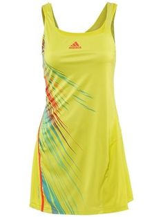 Tennis dress. Love the tropical vibe. Outfits  | Big Fashion Show tennis dresses
