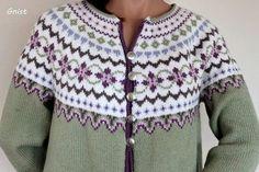 Bilderesultat for kofter Fair Isle Knitting Patterns, Fair Isle Pattern, Knit Patterns, Fair Isle Pullover, Icelandic Sweaters, Nordic Sweater, Fair Isles, Jackett, Jackets