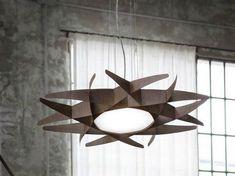 Lampadario in legno moderno 22