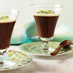 Milk Chocolate Crémeux with Sesame Crème Anglaise