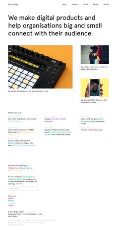 A Color Bright http://mindsparklemag.com/website/a-color-bright/ A Color Bright webdesign site of the day portfolio beauty beautiful award sotd mindsparkle mag