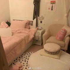 Home Decor Living Room .Home Decor Living Room Dream Rooms, Dream Bedroom, Girls Bedroom, Bedroom Decor, Bedrooms, Room Interior, Interior Design, Cute Room Ideas, Aesthetic Bedroom