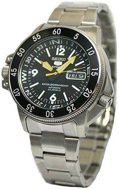 seiko atlas or landshark SKZ211k1 Watch 2, Seiko Watches, Mens Fashion,  Diving, f9409dae0024