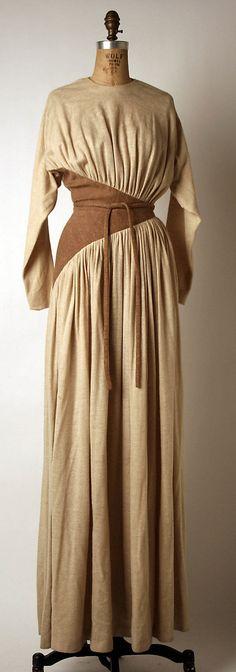 Madame Grès (Alix Barton) (French, Paris 1903–1993 Var region) Date: ca. 1975 Culture: French Medium: wool