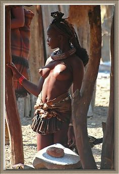 Naked namibian women