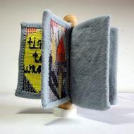 2017 Teitelbaum Award winning work from Elke Hulse called 'Time to weave'