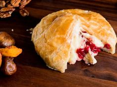 Get Baked Brie with Cranberry Chutney Recipe from Food Network