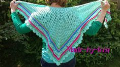 ♥ Haken ♥ : Pattern april flower shawl / Patroon april flower omslagdoek