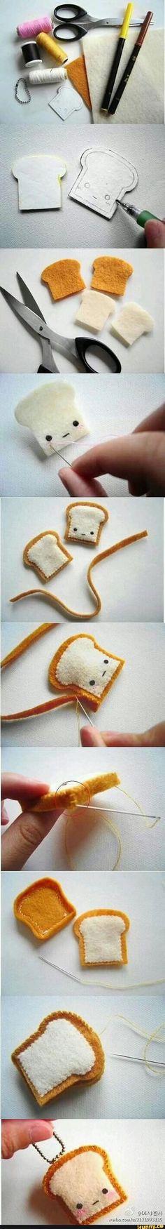 Mini figürlerden Ekmek yapımı / Dikerek