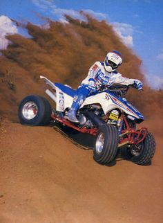 Honda 250r Fourtrax.  Photo Courtesy of Vintage Factory ATC Racer