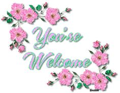 Welcome gif by creata_su_album You Are Welcome Images, Welcome Pictures, Happy Birthday Celebration, Birthday Thank You, Birthday Greetings, Thank You Gifs, Thank You Images, Welcome Quotes, You're Welcome