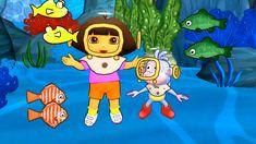 Dora and Friends the Explorer Cartoon! Inside Outside Nick Jr Cartoon Games Kids!