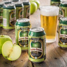 Apple Beer Five 5-calorie Non-alcoholic Sparkling Ale