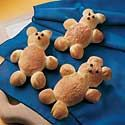 Teddy Bear Bread - to make with kids