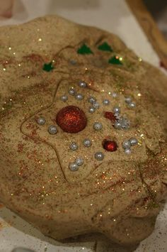 """'Holiday Play Dough' from Playful Learning in the Early Years ("""",)"""