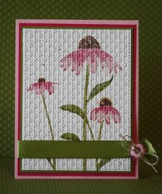 Inspired by Pinks by kyann22 - Cards and Paper Crafts at Splitcoaststampers