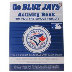 Toronto Blue Jays MLB Activity Book - $12.99