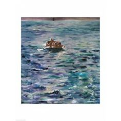 The Escape of Henri de Rochefort Canvas Art - Edouard Manet (24 x 36)