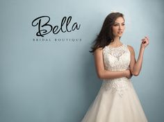 Allure Bridal Style 9200 - Coming Spring 2015 Click the image to set up your appointment at Bella Bridal Boutique in Woodbury, MN!