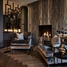 Bedroom Luxury Design Fire Places New Ideas Home Living Room, Living Room Furniture, Living Room Designs, Home Furniture, Living Room Decor, Furniture Stores, Bedroom Decor, Luxury Interior, Home Interior Design