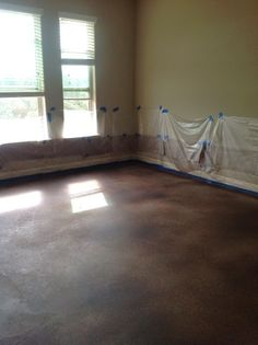 How to Dye or Stain Concrete Floors by 504 Main part 2