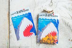 Valentine's Day cards for boys: Shark Valentines by KudzuMonster
