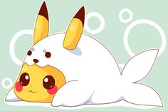 pictures of pokemon outfits   pikachu pokemon cute kawaii seal costume cosplay